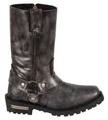 ladies black motorcycle boots ladies motorcycle genuine leather distressed grey boots