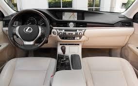 white lexus inside 2013 lexus es 350