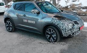 green nissan juke 2015 nissan juke spy photos u2013 news u2013 car and driver