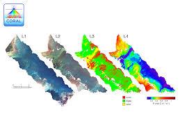 Map Of Coral Reefs Nasa Begins Study Of Australia U0027s Great Barrier Reef Csiro