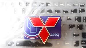 mitsubishi emblem tradelists mitsubishi emblem red star logo sold