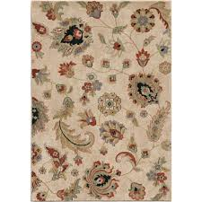 flower area rugs watercolor orian rugs area rugs rugs the home depot