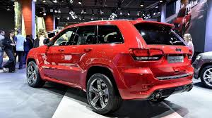 jeep srt jeep grand cherokee srt red vapor special edition bows in france