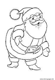 coloring pages to print of santa santa claus christmas s printablebcd0 coloring pages printable