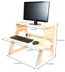 Ikea Desk Stand Diy Standing Desk Ikea Standing Desk Medium Size Of Desk Hack