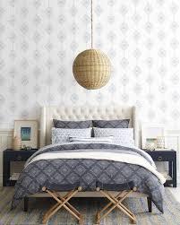 Wallpaper For Powder Room Ideas Lune Linen Duvet Cover Via Serena U0026 Lily Master Bedroom Ideas