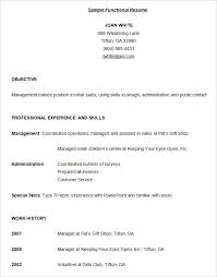 functional resume for students pdf sle functional resume technical college template 15 free