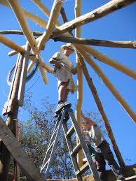 Build A Frame House How To Build A Reciprocal Roof Frame The Shelter Blog