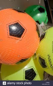 cheap plastic football footballs foot balls bright colour color