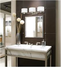 bathroom lighting with electrical outlet interior minimalist brown bathroom vanity set on brown stoned