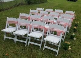 white wedding chairs wedding décor rentals wedding arches chairs in daytona