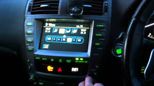 lexus is 250 center console my fully loaded lexus is250 youtube