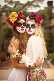 Halloween Makeup Dia De Los Muertos Best 20 Sugar Skull Makeup Tutorial Ideas On Pinterest Sugar