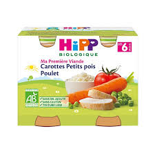 ma premi鑽e cuisine hipp organic my peas carrots and chicken sanareva