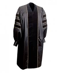 doctoral regalia deluxe doctoral gown graduationsource