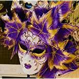 ceramic mardi gras masks mardi gras mask wall decor with turquoise feather