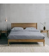 queensized reclaimed wooden door bed frame by jerseyicecreamco