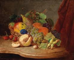 basket of fruit file ferdinand küss still with basket of fruit and bee jpg