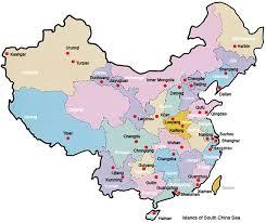 map of china map of china china polical map china province map