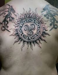 55 celtic sun tattoos designs and pictures with meanings