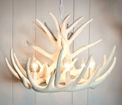 faux antler chandelier white lightings and lamps ideas