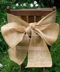 Chair Sashes For Weddings 100 Natural Burlap Hessian Chair Sash Chair Ribbon For Rustic