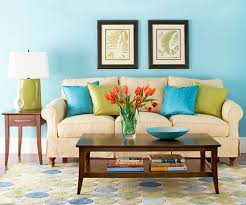 Teal Color Sofa by Bhg Centsational Style