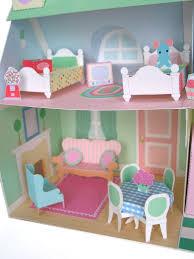 paper doll house 4 paper cardboard wood felt diy fun