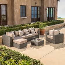 Modular Wicker Patio Furniture - ace evert patio furniture collections costco