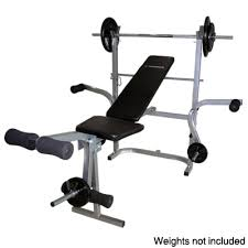 Collapsible Weight Bench Home Gym Multi Use Weight Bench Functional Inthemarket