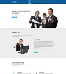 vibe free html5 template for corporate website