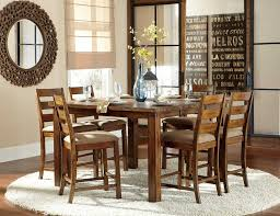 Counter Height Dining Room Table Sets by Homelegance Ronan Counter Height Table Natural Burnished Wood