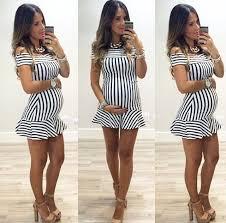 stylish maternity clothes m o n i q u e m motherhood fashion pregnancy