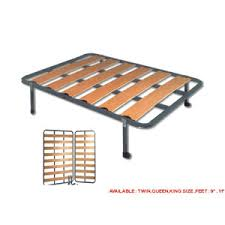 Folding Bed Frame Bed Frames Rails Wooden Slat Bed Frame Kyrbe Ef Elitedecore
