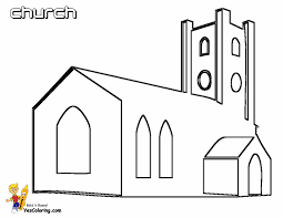 church coloring pages for children archives and church coloring