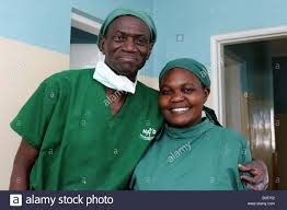 Doctor And Nurse Doctor And Nurse In A Hospital In Kenya Stock Photo Royalty Free