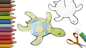 how to make a turtle diy paper crafts printable paper toys