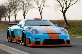 gulf porsche 911 2014 porsche 911 gt9 cs by 9ff front photo gulf oil livery
