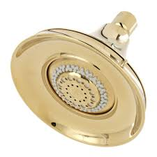 brass showerheads showerheads u0026 shower faucets the home depot