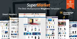 supermarket responsive magento 1 u0026 2 theme by alotheme themeforest