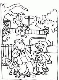 zoo animal coloring pages preschool preschool zoo coloring pages