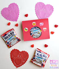 valentines for kids treats for kids with welch s fruit snacks