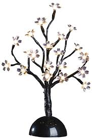 sterling at home 92413016 12 inch led mini blossom tree warm white