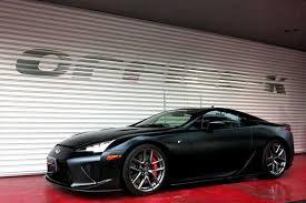 lexus lfa custom exhaust office k wraps lfa in satin black adds custom exhaust carbuzz
