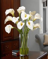 silk calla lilies calla silk flower arrangement for decorating at