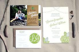 best wedding invitations josh s pacific northwest summer wedding invitations