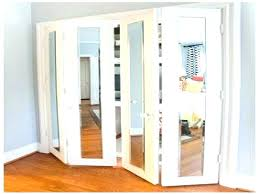 Stanley Mirrored Closet Doors Closet Doors With Mirrors Create A New Look For Your Room With