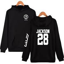 got7 hoodie free shipping worldwide