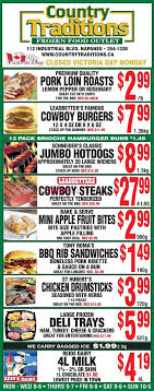 country traditions canada flyers