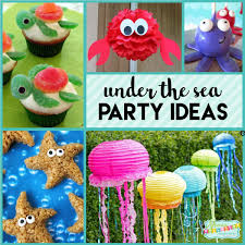 the sea party ideas the sea party fishy with party ideas mimi s dollhouse